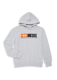 Diesel Boy's Logo Fleece Hoodie