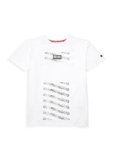Diesel Boy's Striped Graphic T-Shirt