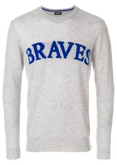 Diesel Braves slogan jumper