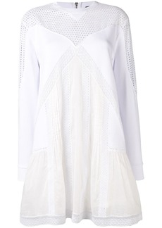 Diesel broderie patchwork dress