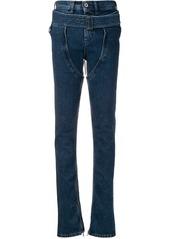 Diesel buckle-detail skinny jeans