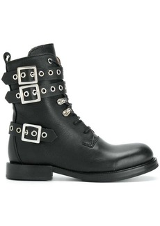 Diesel buckled boots