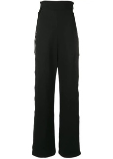 Diesel buttoned wide leg track pants