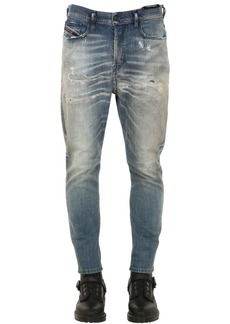 Diesel Carrot Fit Cotton Denim Jeans