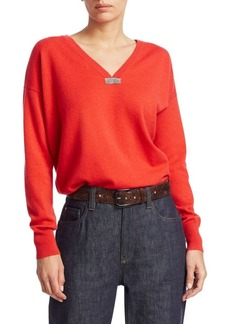 Diesel Cashmere Boyfriend Knit Sweater