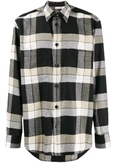 Diesel check flannel shirt