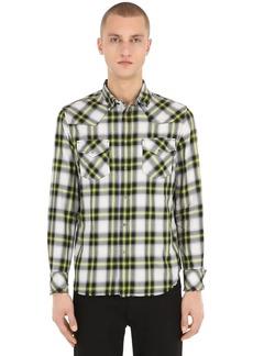 Diesel Check Light Cotton Shirt