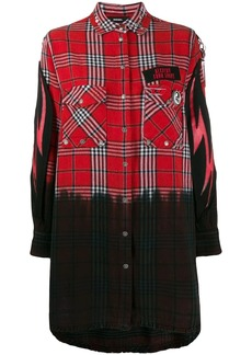Diesel check shirt dress