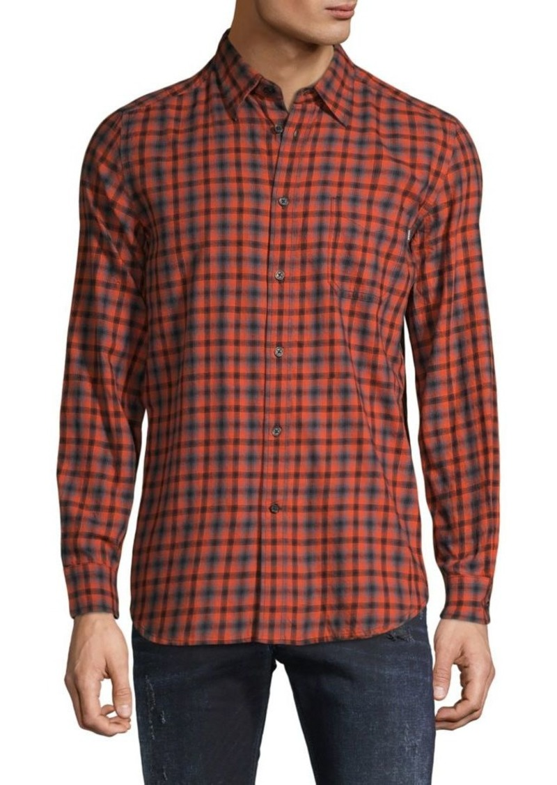 Diesel Checkered Long-Sleeve Shirt