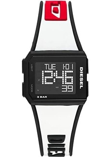 Diesel Chopped Digital Watch