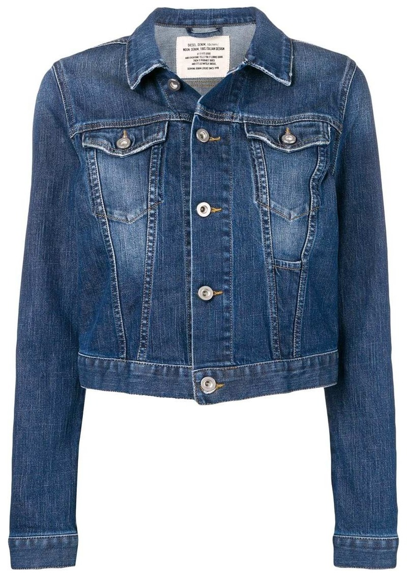 Diesel classic fitted denim jacket
