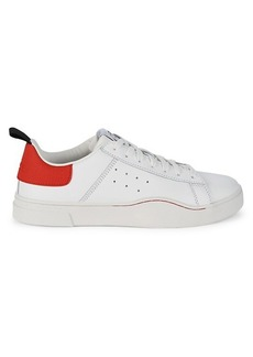 Diesel Clever Colorblock Leather Sneakers