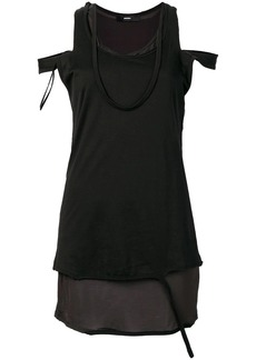 Diesel cold-shoulder top