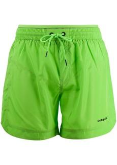 Diesel contrast logo swim shorts