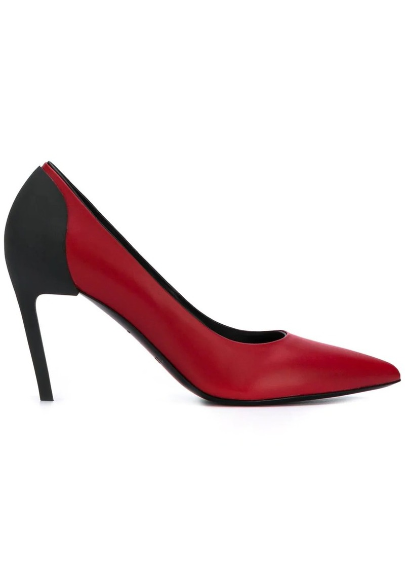 Diesel contrast stiletto pumps