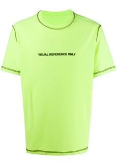Diesel contrast stitch reversible T-shirt