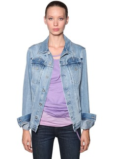 Diesel Cotton Denim Trucker Jacket