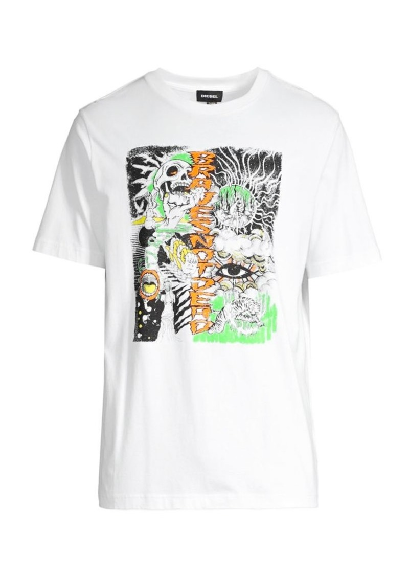 Diesel Cotton Graphic Tee