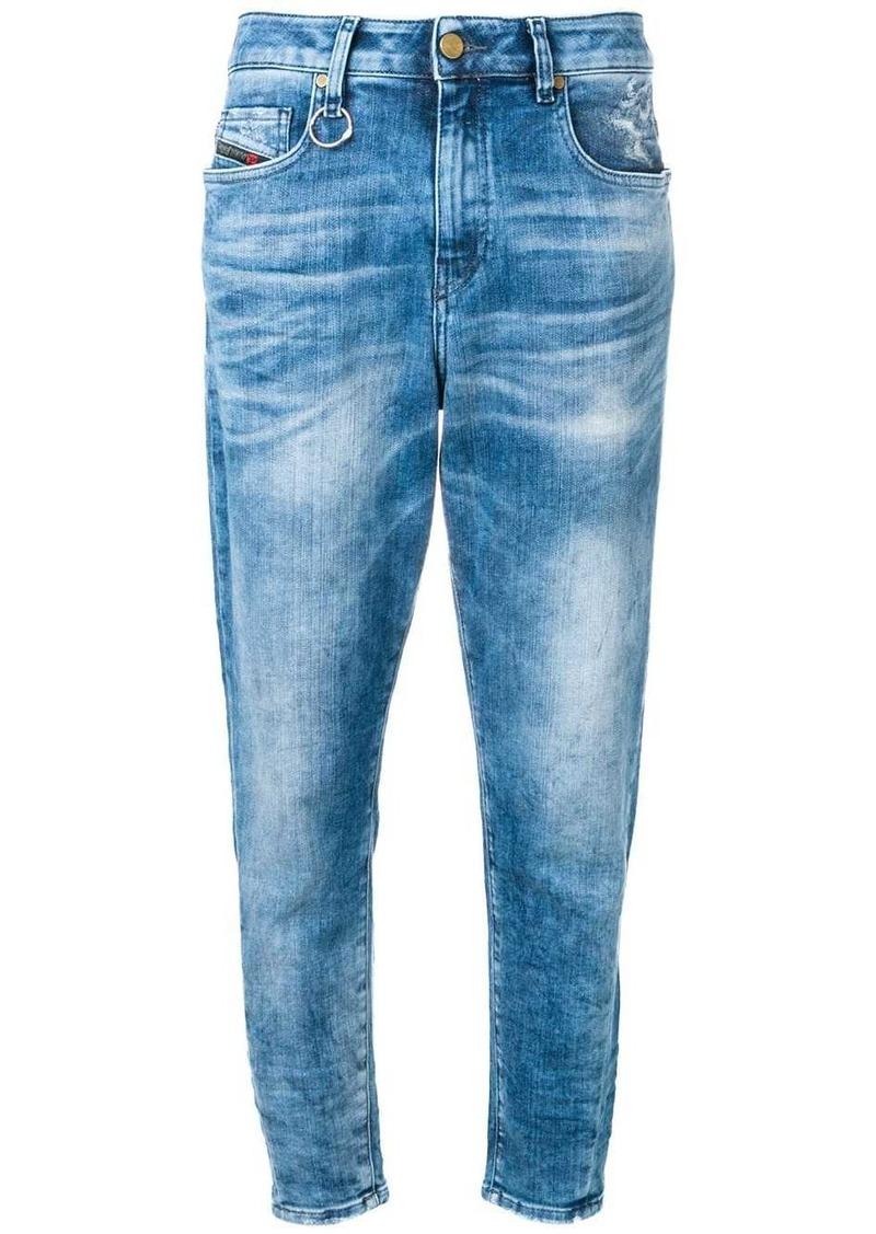 Diesel cropped boyfriend jeans