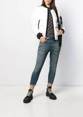 Diesel cropped denim jeans