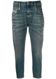 Diesel cropped denim jeans