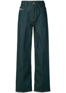 Diesel cropped high waisted jeans