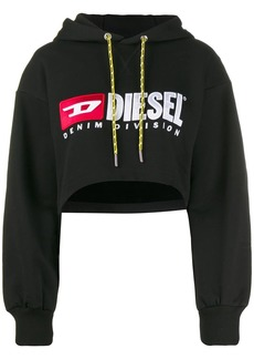 Diesel cropped hooded sweatshirt