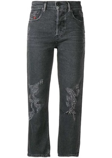 Diesel cropped slim fit jeans