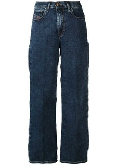 Diesel cropped straight jeans