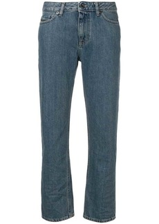 Diesel cropped straight leg jeans