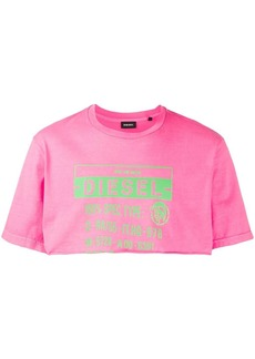 Diesel cropped T-shirt