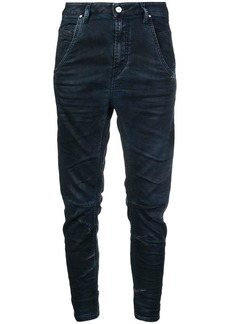 Diesel cropped tapered trousers