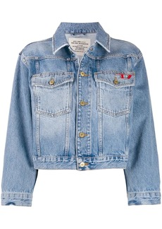 Diesel cropped trucker jacket