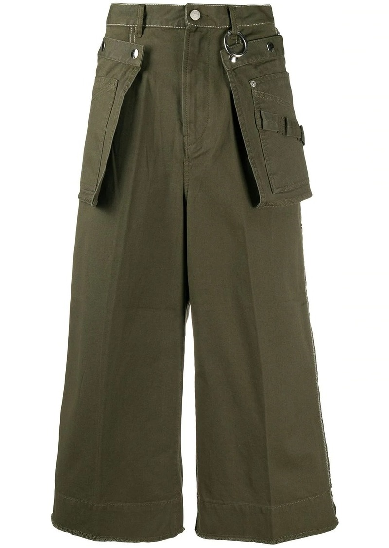 Diesel cropped utility trousers