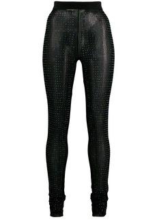 Diesel crystal embellished leggings