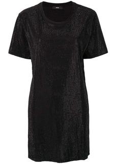 Diesel crystal-embellished T-shirt dress