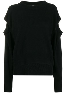 Diesel cut-out detail sweater