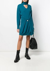 Diesel cut-out turtleneck sweater dress