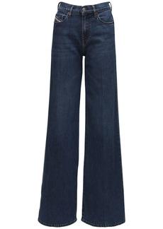 Diesel D-akemi Wide Leg Jeans