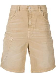 Diesel D-Azerr muli-pocket denim shorts