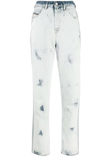 Diesel D-Eiselle straight leg denim jeans