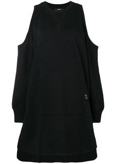 Diesel D-Ema cold-shoulder dress