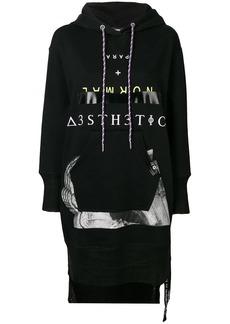 Diesel D-Ilse-B hooded dress