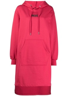 Diesel D-Ilse-Smallogo hoodie dress