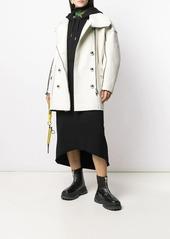 Diesel D-Ilse-Twist-Copy hooded dress