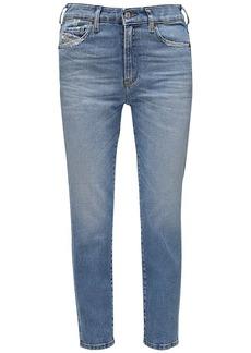 Diesel D-joy Slim Washed Denim Jeans