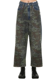 Diesel D-luite High Rise Camo Denim Jeans