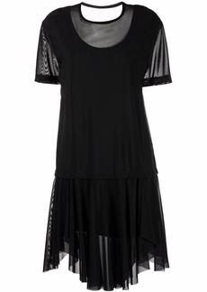 Diesel D-Otta fine mesh T-shirt dress