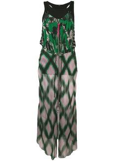 Diesel D-ring front zip dress