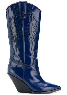 Diesel D-WEST cowboy boots
